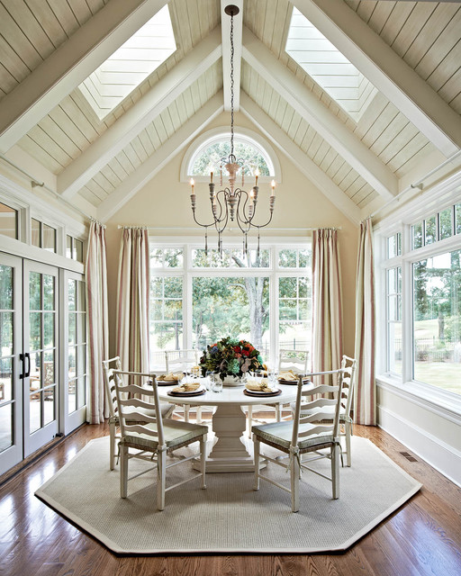 19 beautiful dining room designs in traditional style Pretty dining rooms