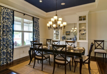 19 Beautiful Dining Room Designs in Traditional Style - traditional dining room, dining room