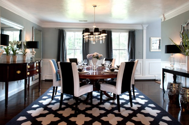 19 beautiful dining room designs in traditional style - style