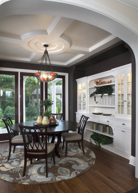 19 beautiful dining room designs in traditional style for Traditional dining room ideas