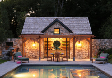 22 Fantastic Pool House Design Ideas - Poolside, pool house design, pool house, pool