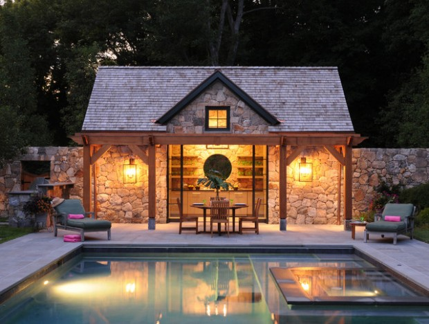 Awesome 22 Fantastic Pool House Design Ideas