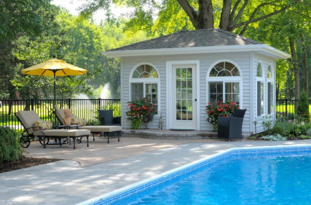 Pool House Ideas 22 fantastic pool house design ideas 22 Fantastic Pool House Design Ideas
