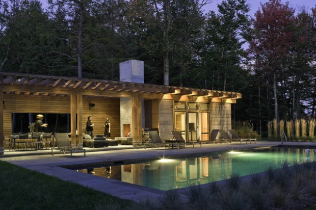 22 Fantastic Pool House Design Ideas