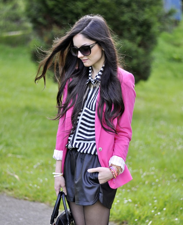25 Inspirational Spring Outfits with Pink Color