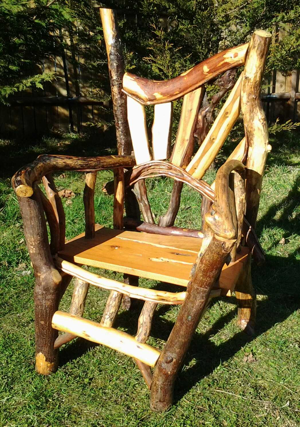 Pallet Furniture Outdoor Chair Easy Diy