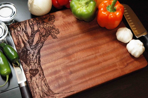 15 Beautiful Handmade Cutting Board Gifts