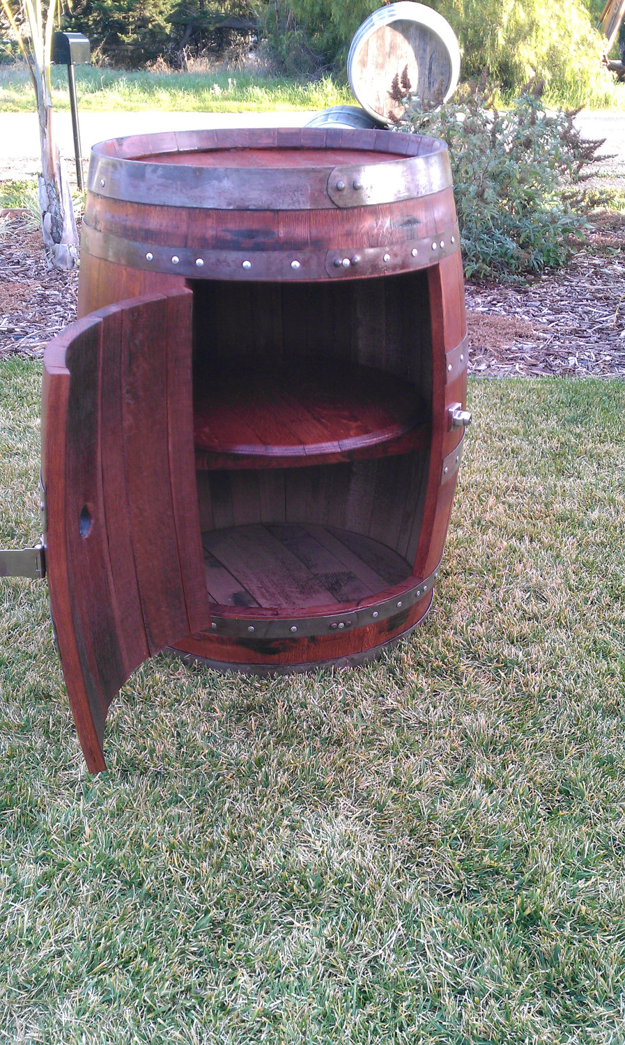 15 cool diy projects from recycled wine barrel wood