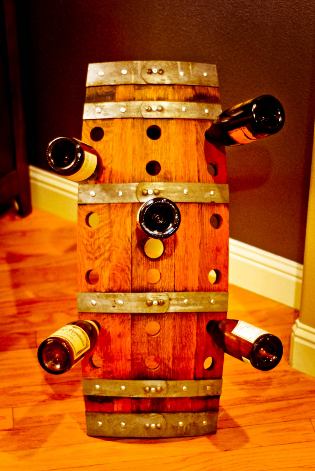 wine x zoom asp half enthusiast rack barrel preparing reclaimed