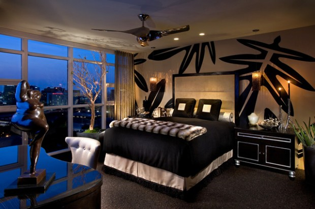 15 Elegant Black And White Bedroom Design Ideas Style
