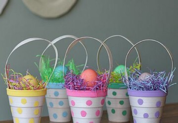 16 Amazing DIY Decorations You Should Make for Easter    - diy Easter eggs decoration, diy Easter decorations, diy Easter