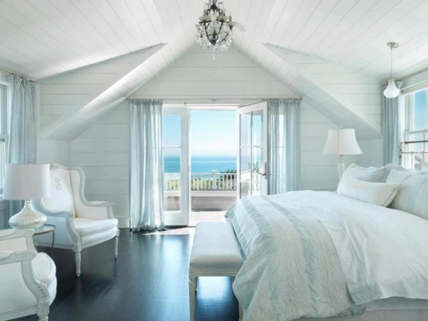 16 vintage inspired chic bedroom design ideas style motivation Beach house master bedroom ideas