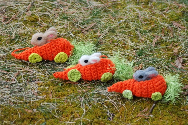 17 Cute & Handmade Needle Felted Easter Decorations (12)