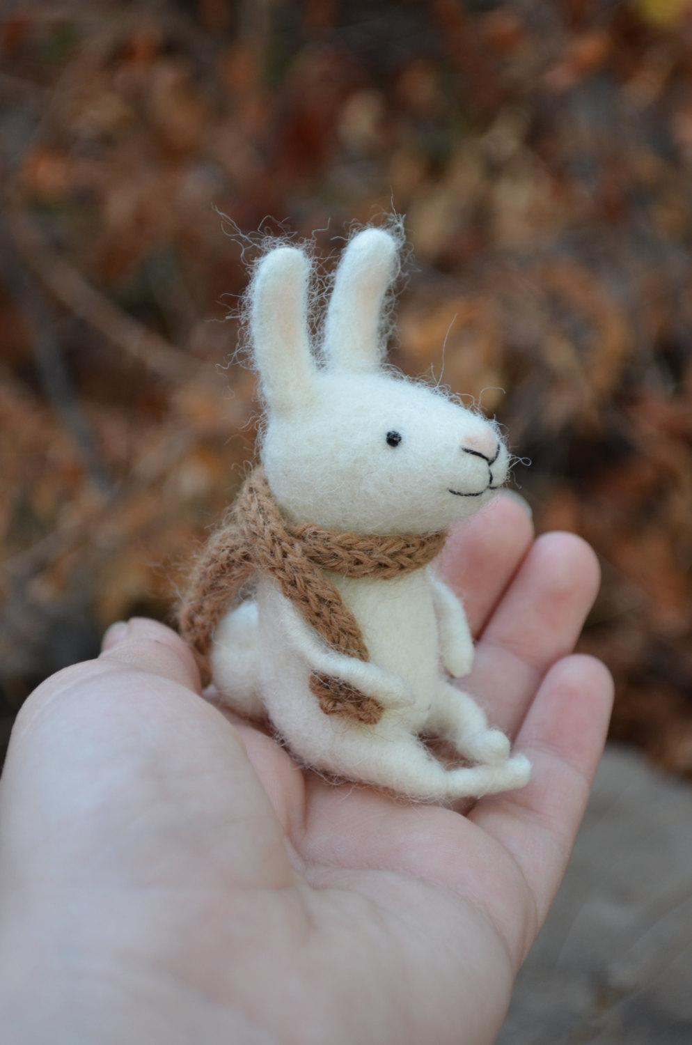 17 Cute & Handmade Needle Felted Easter Decorations ...