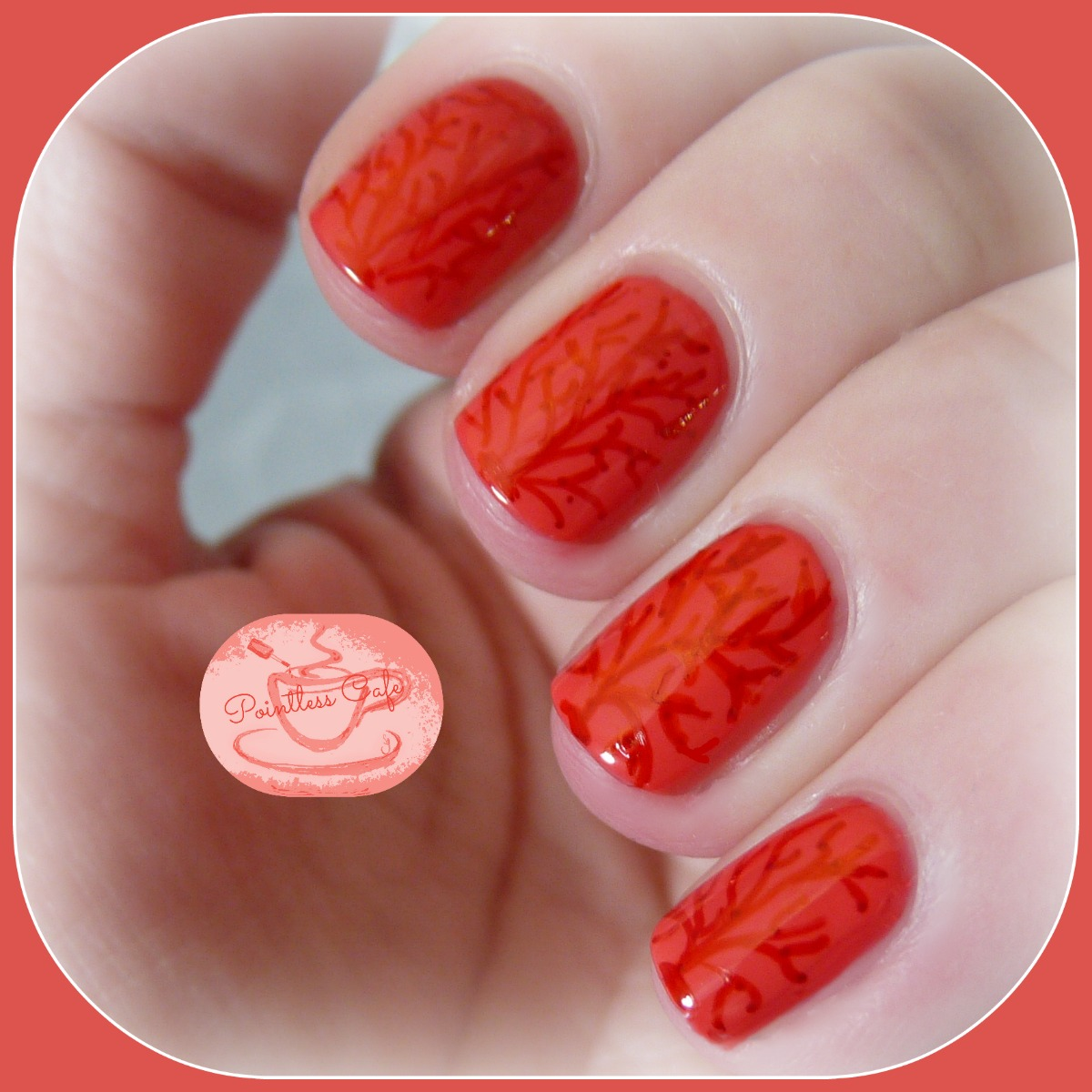 Acrylic Nail Art Coral The Best Inspiration For Design And Color