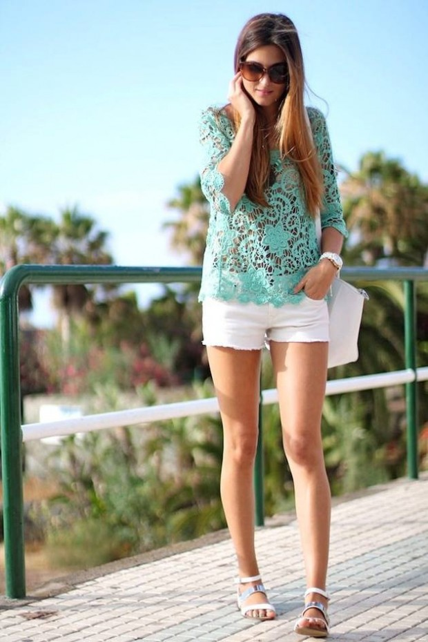 17 Lovely Outfit Ideas for Adorable Spring Loog (12)