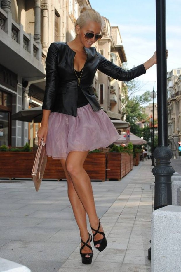 17 Outfit Ideas with Tulle Skirts for Romantic Look (10)