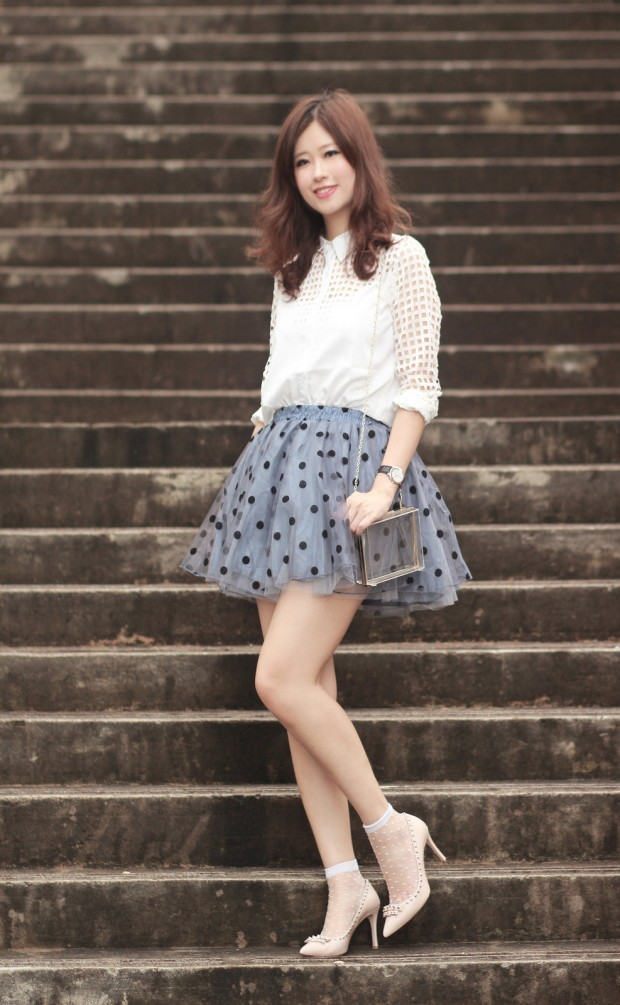 17 Outfit Ideas with Tulle Skirts for Romantic Look (2)