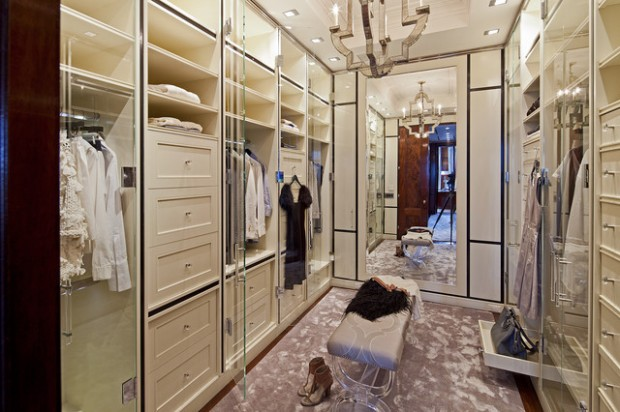 17 sophisticate and elegant womans closet design ideas - Closet Designs Ideas
