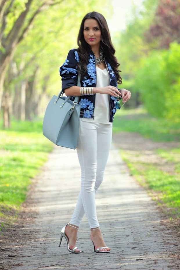 17 Stylish Comfortable Street Style Outfit Combinations for Spring   (1)