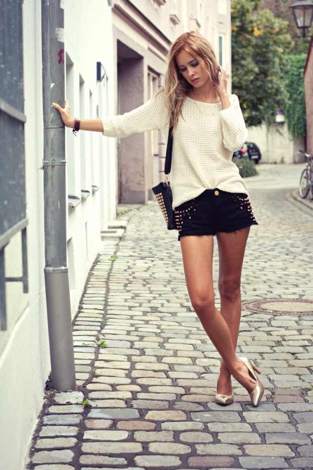 17 Stylish Comfortable Street Style Outfit Combinations for Spring   (11)