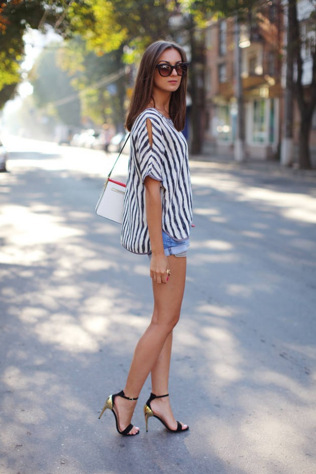 17 Stylish Comfortable Street Style Outfit Combinations for Spring   (13)