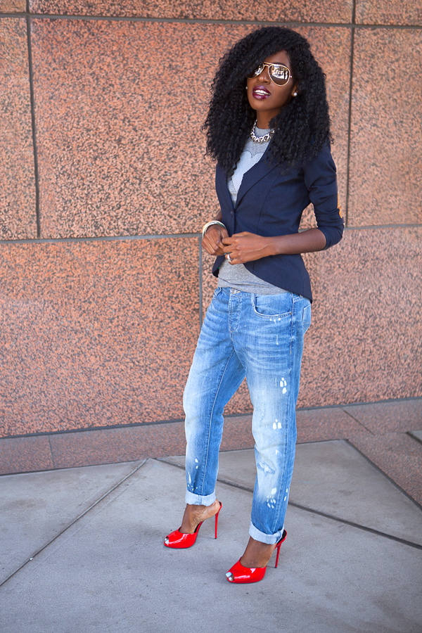 17 Stylish Comfortable Street Style Outfit Combinations for Spring   (7)