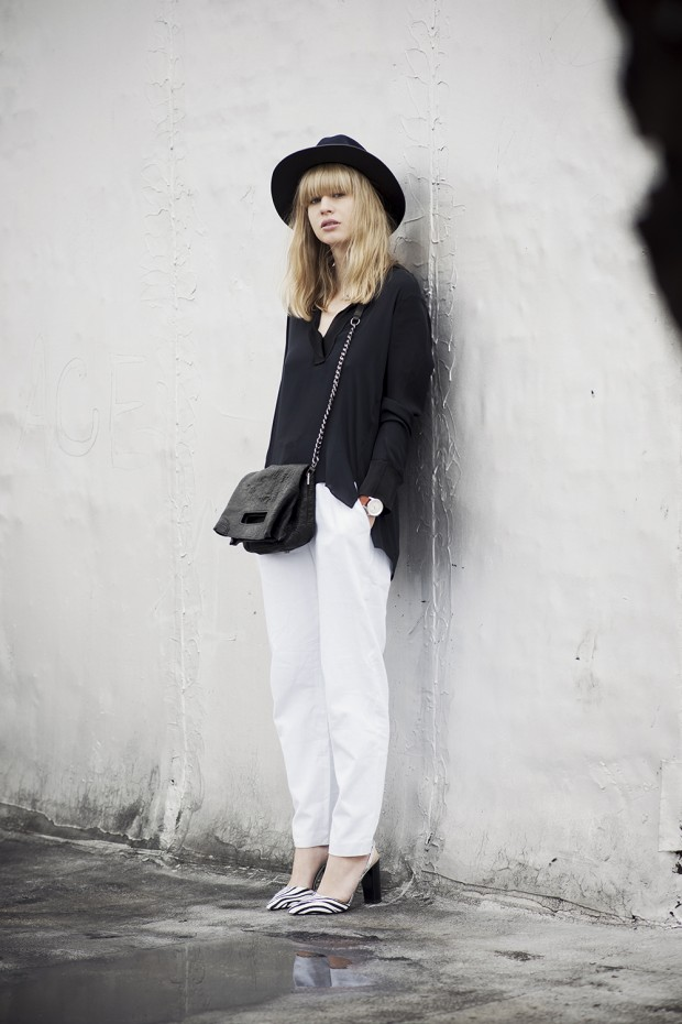 17 Stylish Comfortable Street Style Outfit Combinations for Spring   (8)