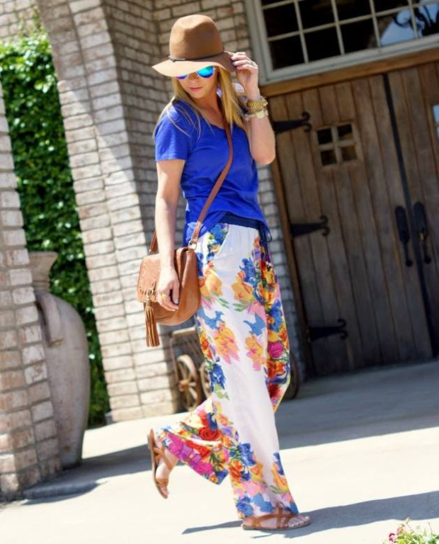 17 Stylish Comfortable Street Style Outfit Combinations for Spring   (9)
