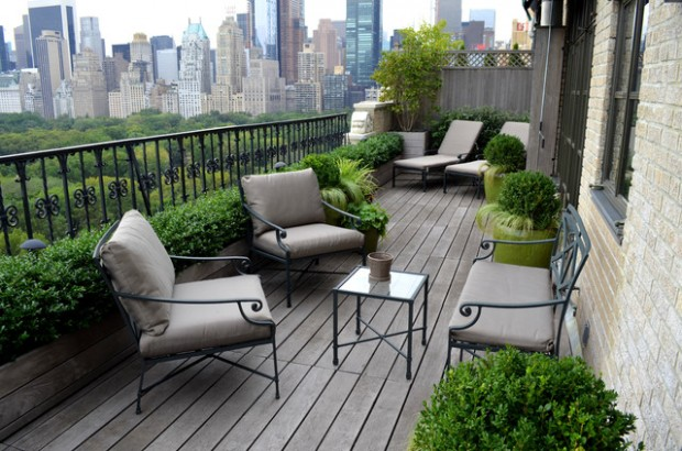 16 Wonderful Balcony Garden Ideas for Perfect Relaxation Style