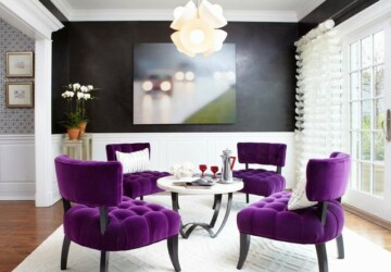 18 Amazing Interior Decor Ideas with Purple Details - purple interior decor, purple, Interior Decor