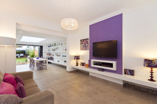18 Amazing Interior Decor Ideas with Purple Details