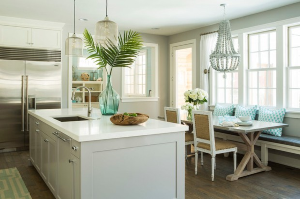 Formal Dining Table Setting Ideas, 18 Beach Cottage Interior Design Ideas Inspired By The Sea