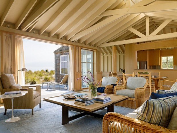 18 beach cottage interior design ideas inspired by the sea - Cabin Interior Design Ideas