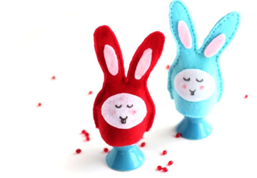 18 Cute Easter Crafts You Can Make with Your Kids - Easter crafts, diy kids crafts, diy Easter decorations, diy Easter