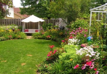 18 Landscaping Ideas for Small Backyards - small backyard, landscape outdoors, backyard