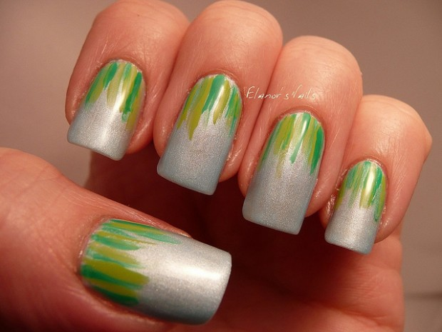 17 Lovely Nail Art Ideas in Bright Colors and Creative Designs