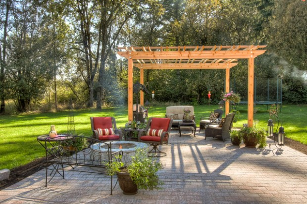 18 Lovely Pergola Design Ideas for Your Outdoor Area (1)