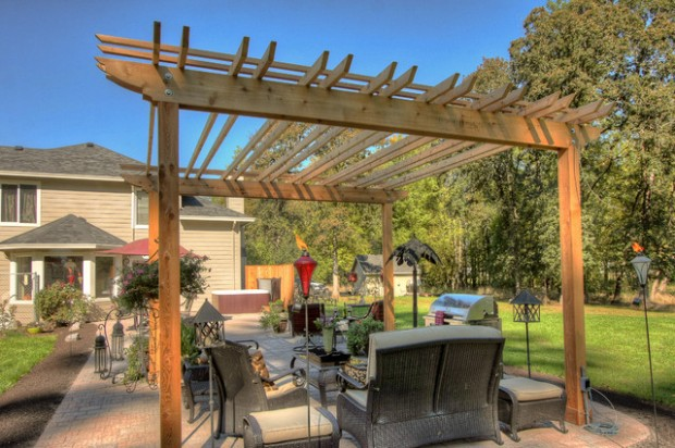 18 Lovely Pergola Design Ideas for Your Outdoor Area (11)