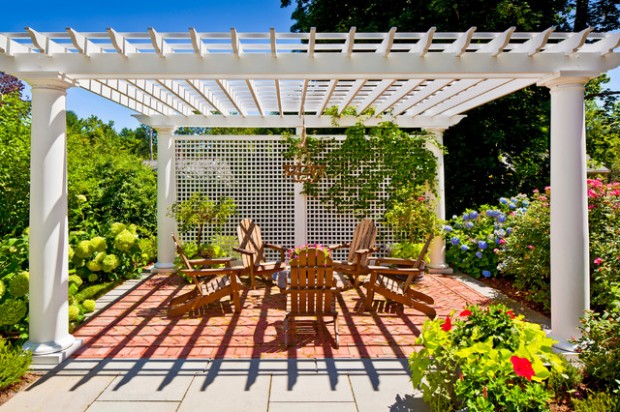 18 Lovely Pergola Design Ideas for Your Outdoor Area (12)