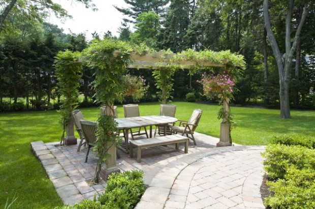 18 Lovely Pergola Design Ideas for Your Outdoor Area (13)