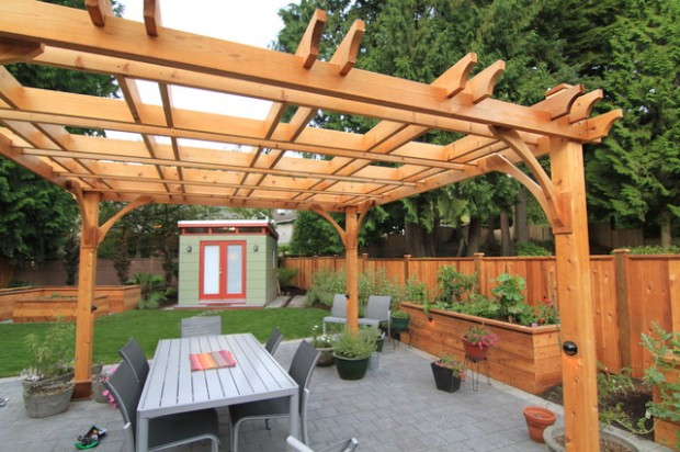 18 Lovely Pergola Design Ideas for Your Outdoor Area (15)