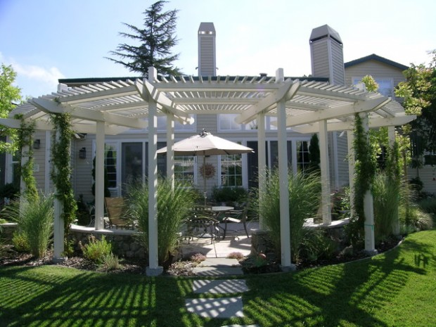 18 Lovely Pergola Design Ideas for Your Outdoor Area (16)