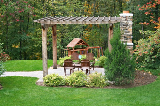 18 Lovely Pergola Design Ideas for Your Outdoor Area (3)
