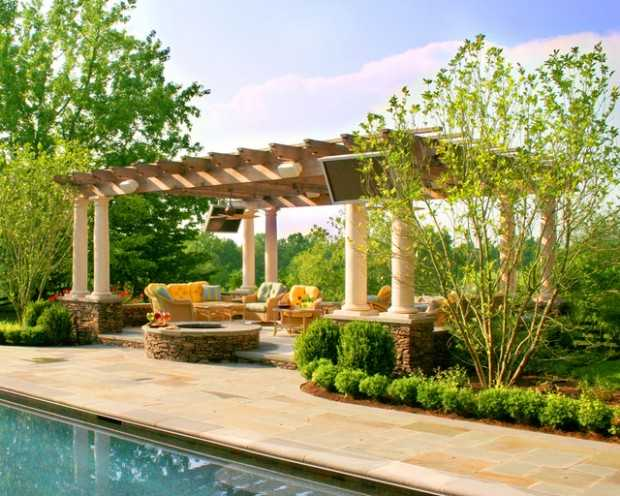 18 Lovely Pergola Design Ideas for Your Outdoor Area (5)