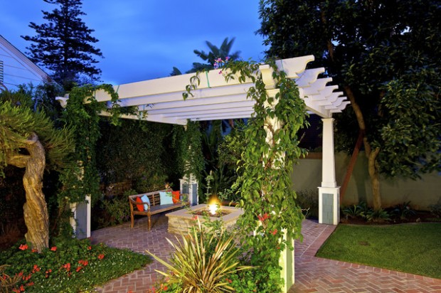 18 Lovely Pergola Design Ideas for Your Outdoor Area (6)