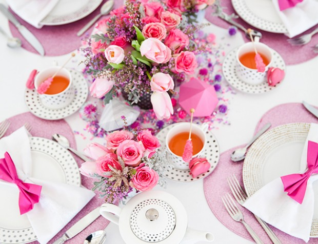 18 Pretty Pink Decoration Ideas for Bridal Shower  (1)