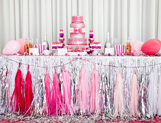 18 Pretty Pink Decoration Ideas for Bridal Shower  (2)