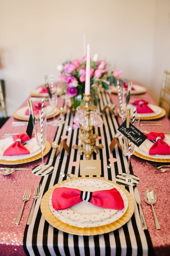 18 Pretty Pink Decoration Ideas for Bridal Shower  (6)