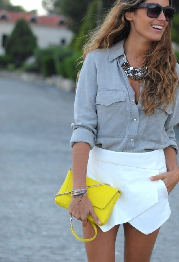 18 Stylish Outfits with Statement Necklaces        (10)